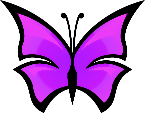 Purple Butterfly Clipart & Purple Butterfly Clip Art Images.