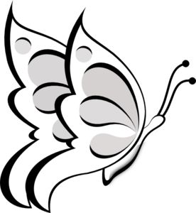Wedding Butterfly Clipart.