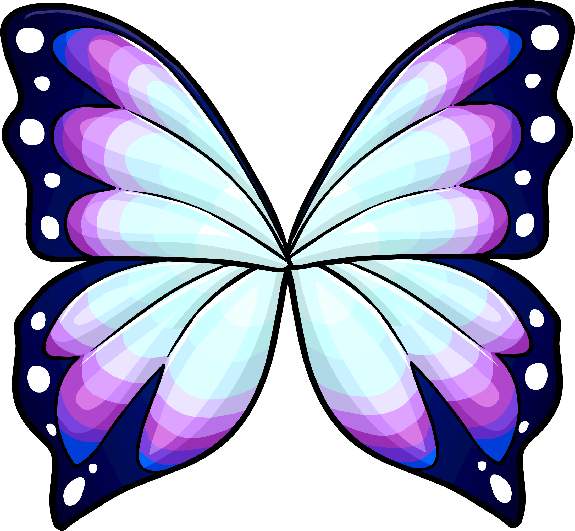 Butterfly Wing Clipart.