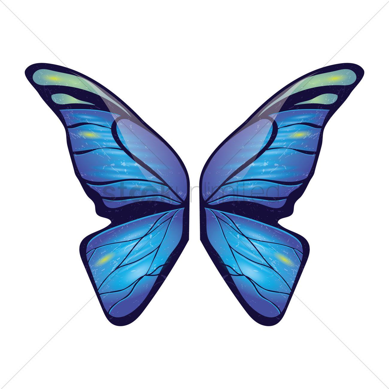 Butterfly clip art butterfly wing.