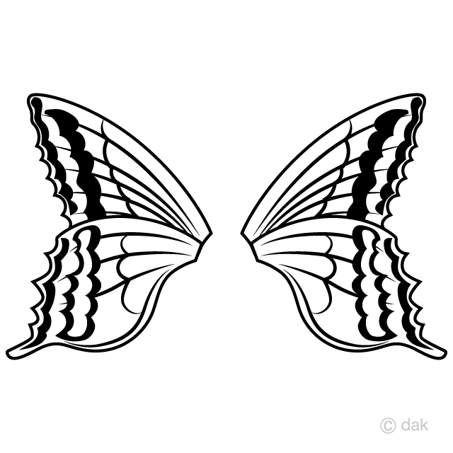 Butterfly Wings Clipart Free Picture Illustoon.