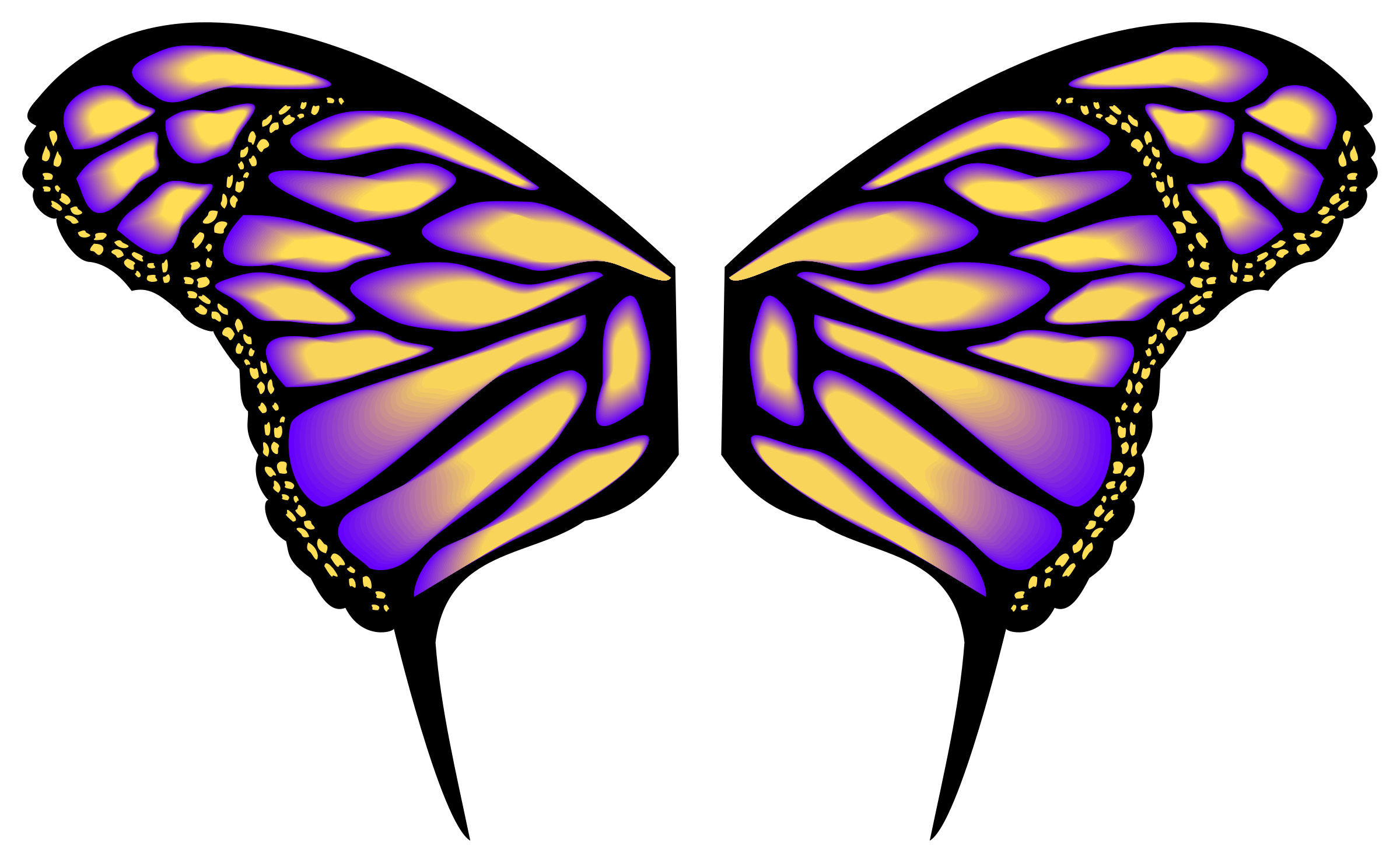 Butterfly Wings Clipart - Clipground