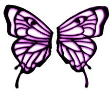 Butterfly Wings Clip Art.
