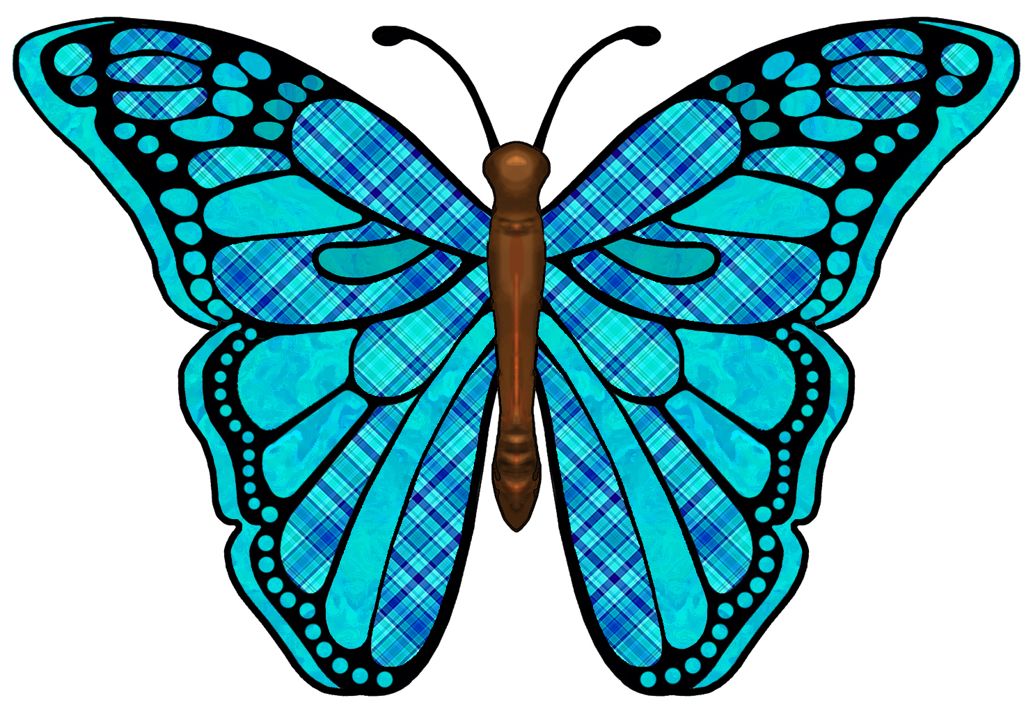 Black butterfly with blue clipart clipground black butterfly with blue clipart buycottarizona