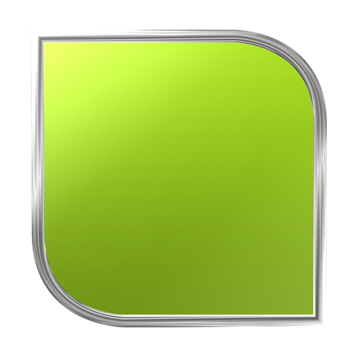 Button 3D Icon.