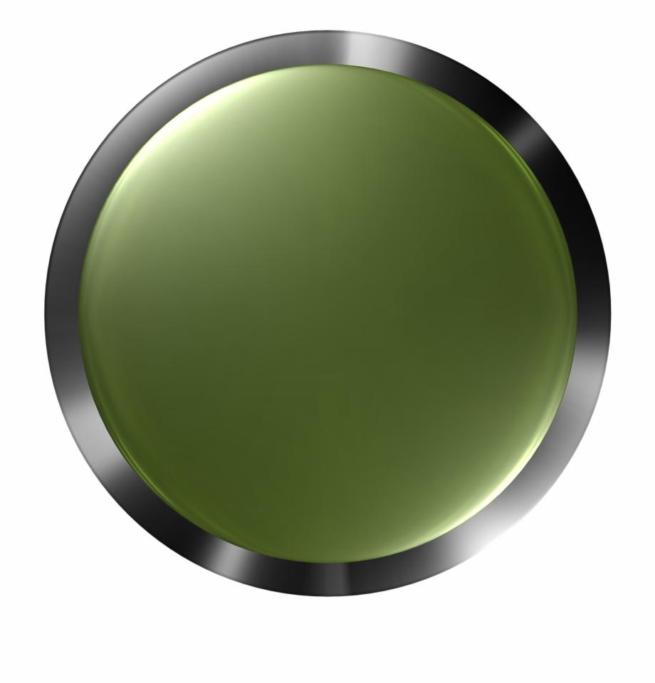 Button Press Digital Push 3d Png Image.