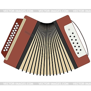 Russian button accordion.