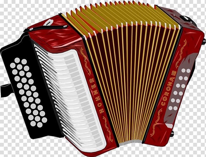 Red accordion , Vallenato Legend Festival Colombia Accordion.