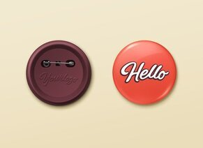 Free Button Badge Cliparts in AI, SVG, EPS or PSD.