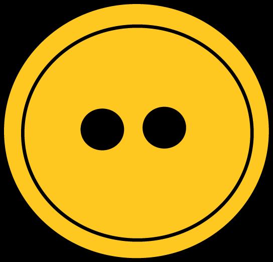Yellow button clip art.