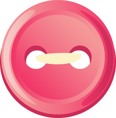 Cute button free clipart.