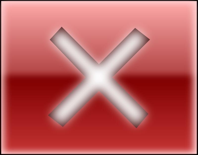 Free Clipart: Close button.