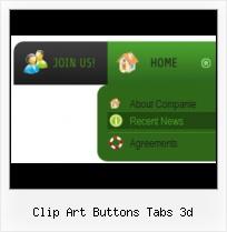 Clip Art Buttons Tabs 3d.