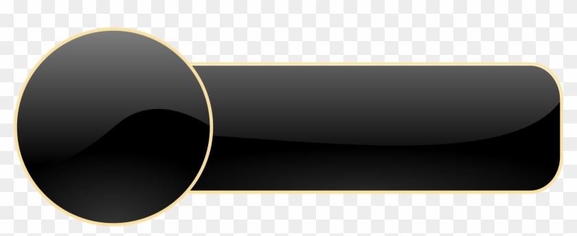 Black Button Png.