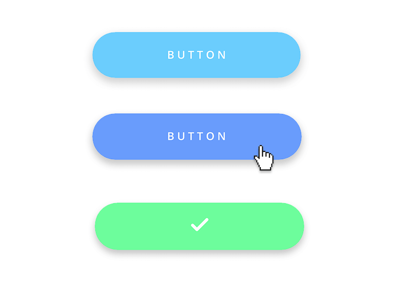 How to design button states in 3 simple steps.