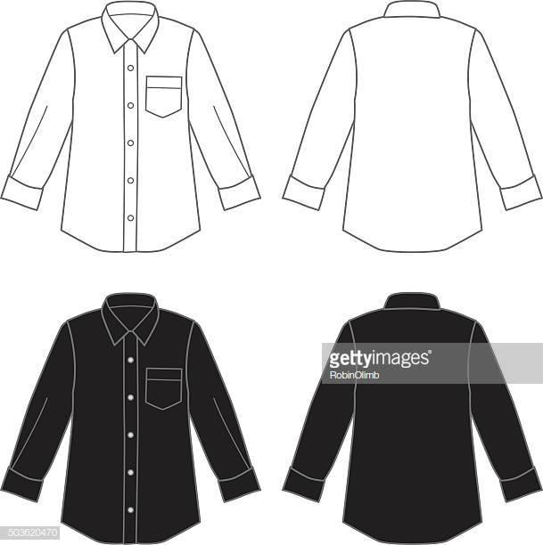 World's Best Button Down Shirt Stock Illustrations.