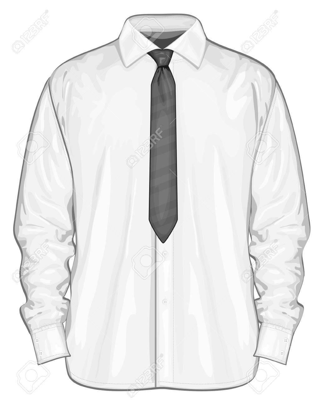 Vector illustration of dress shirt button.