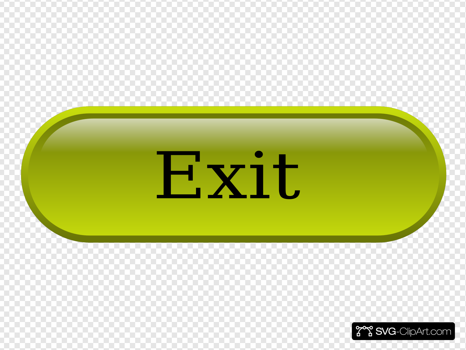 Exit Button Clip art, Icon and SVG.