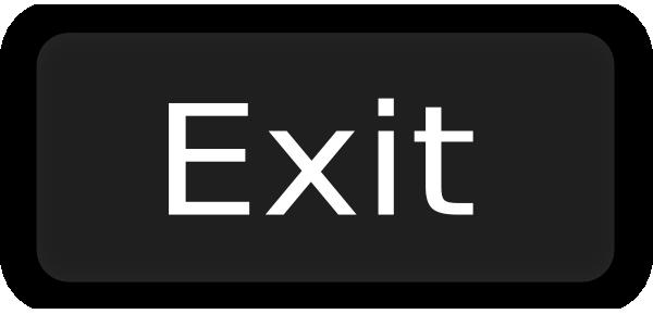 Exit Button Clipart.