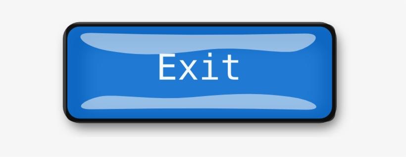 Exit Clipart Exit Button.