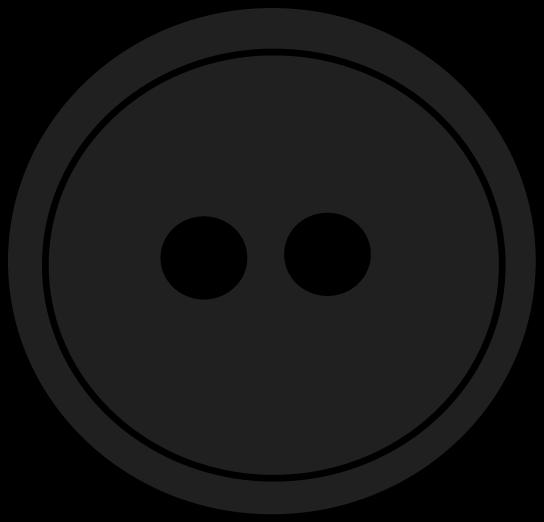 Black Button Clipart.