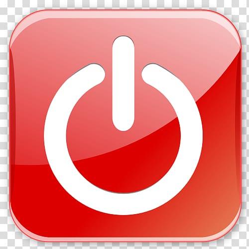 Power button logo, Computer Icons Button Scalable Graphics.