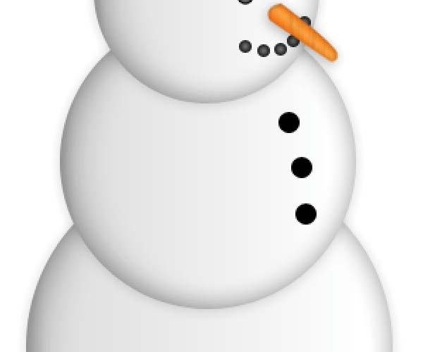 Design a Simple Snowman in Photoshop.