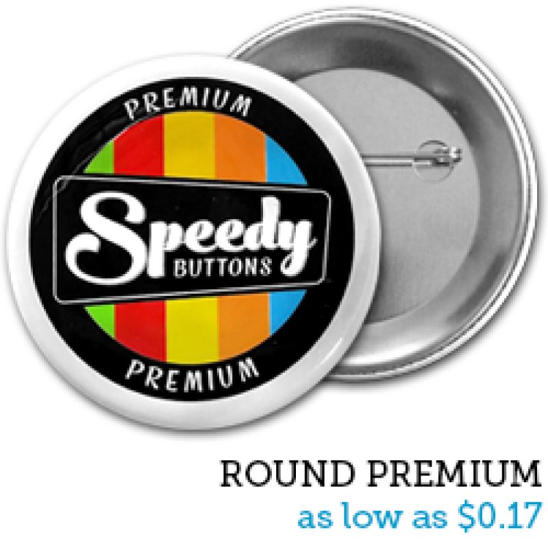 ROUND Premium Buttons:.