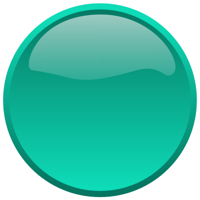 Green Circle Button transparent PNG.