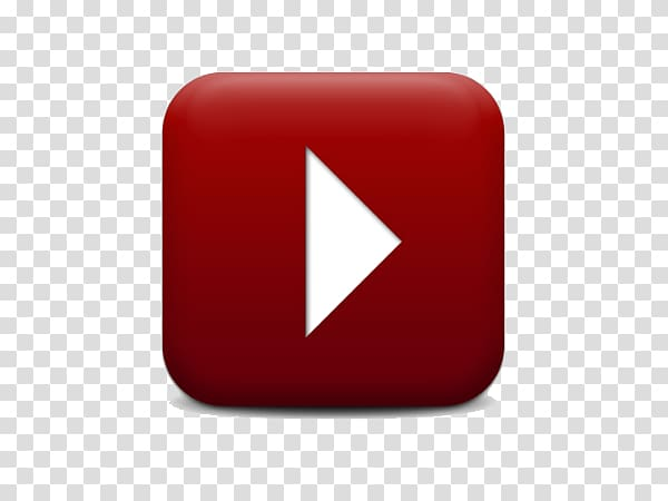 Brand Red Square, Inc., YouTube Play Button transparent background.