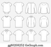 Button Up Shirt Clip Art.