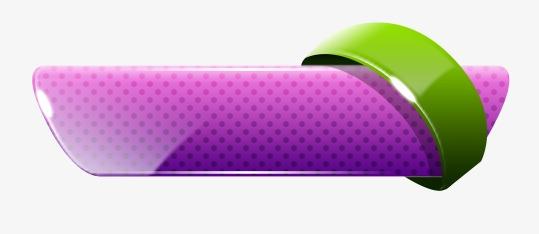 Purple Three Dimensional Buttons, Purple, Three Dimensional, Push.