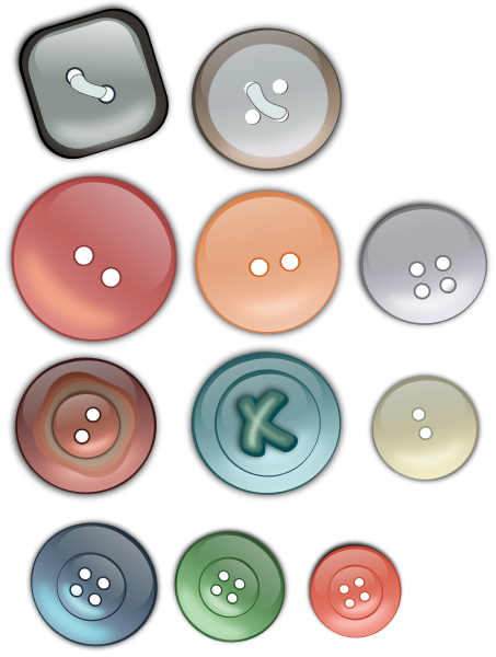 Buttons.