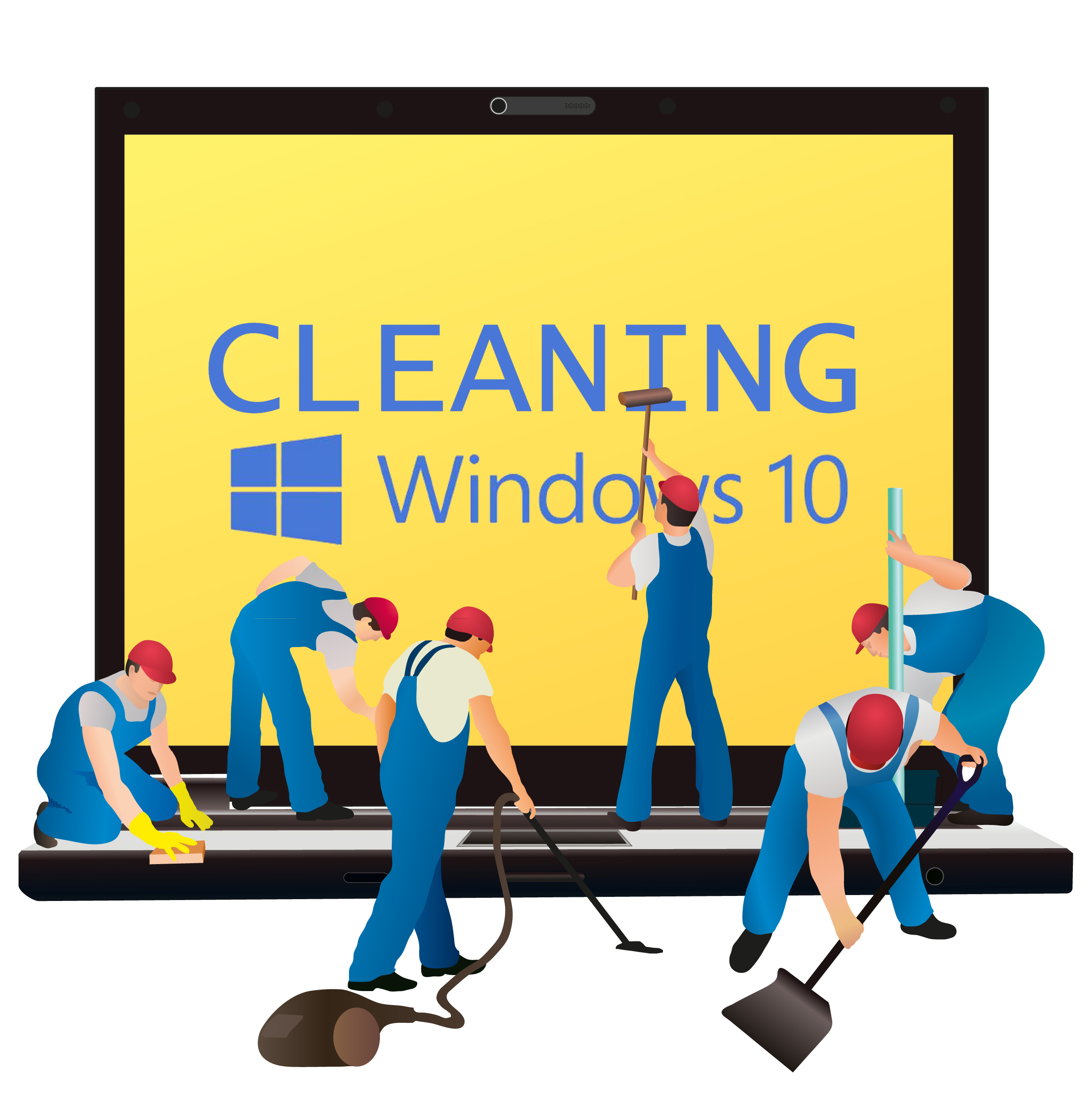 Clean up after a Windows 10 upgrade and regain loads of disk space.