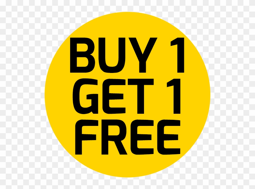 Buy 1 Get 1 Free Png Hd Clipart (#3094678).