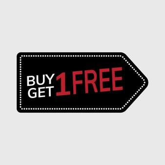 Buy 1 Get 1 Free Vectors, Photos and PSD files.