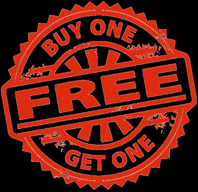Download Free png Buy 1 Get 1 Free Transparent Images PNG.