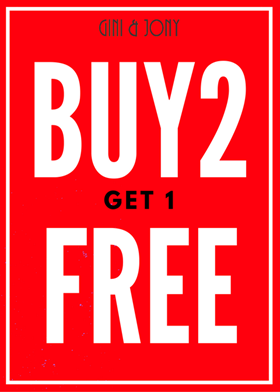 Buy 2 Get 1 Free On Kids Clothing at Gini & Jony, Secunderabad.