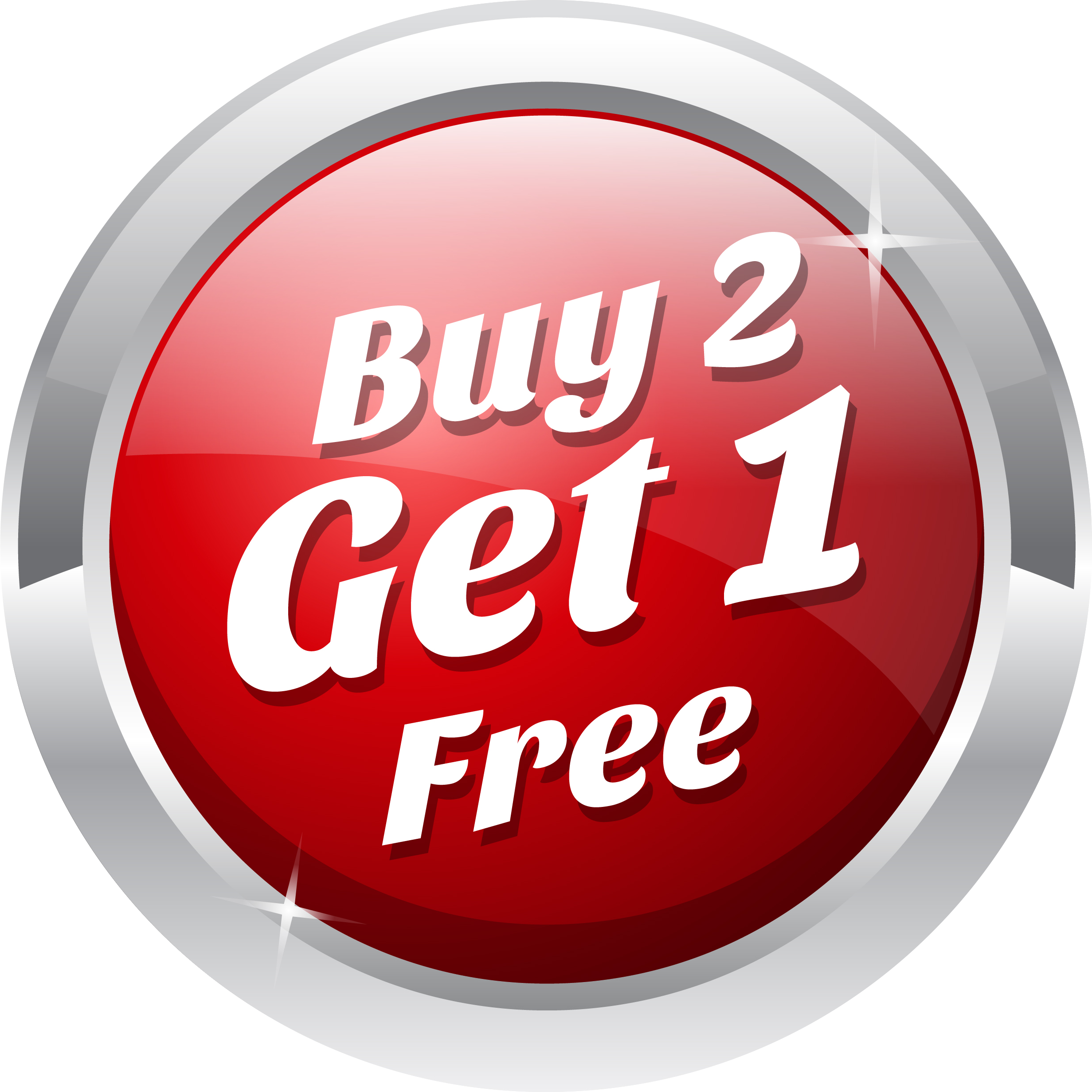 Buy 1 Get One Free.
