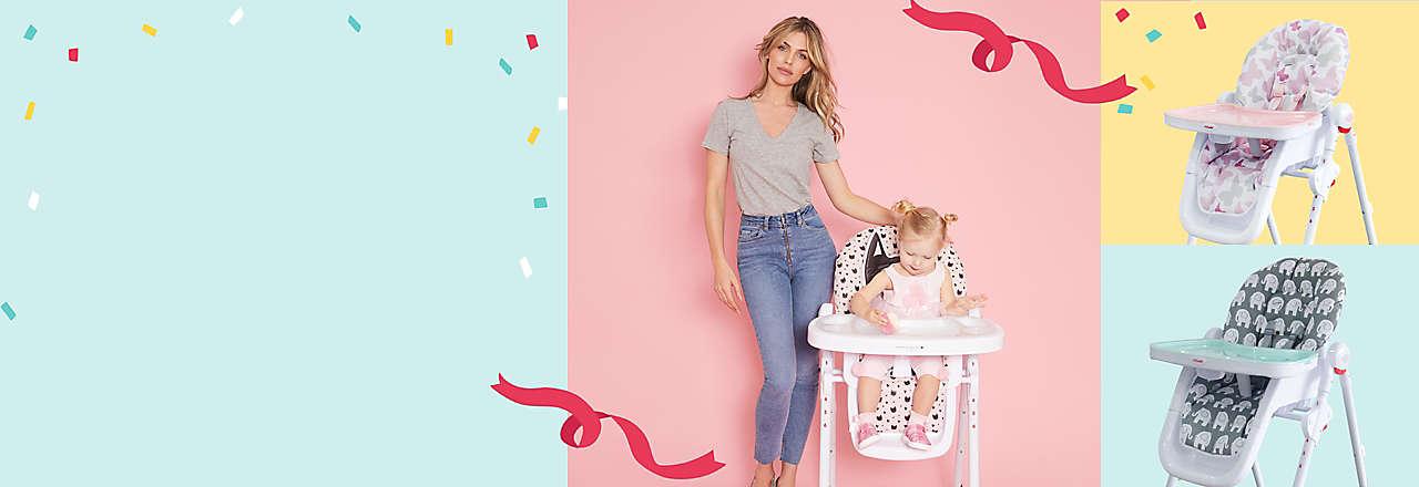 Baby Registry, High Chairs, Strollers, Car Seats, Nursery.