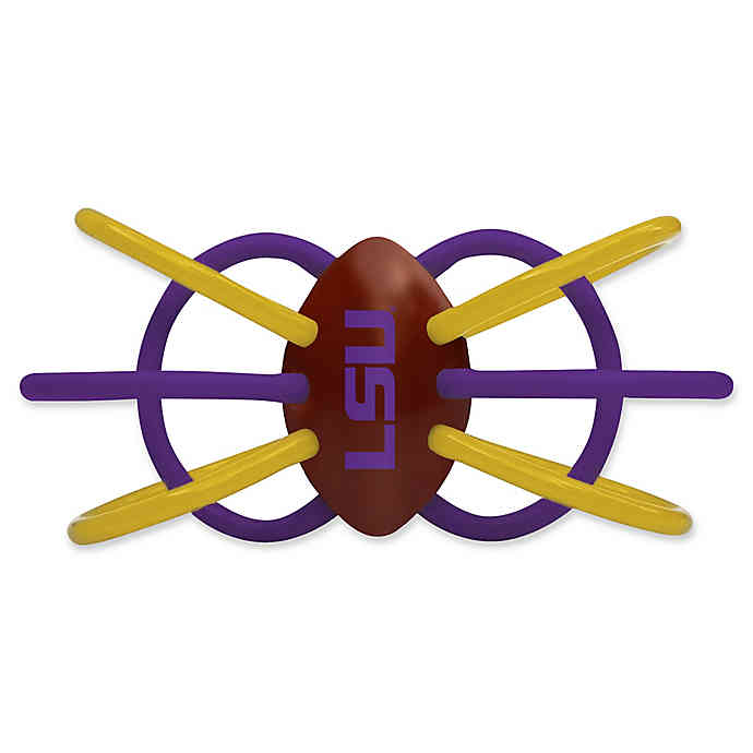 LSU Teether/Rattle.