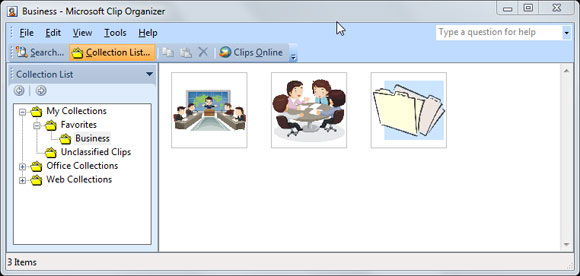 Microsoft Clip Art Collection.