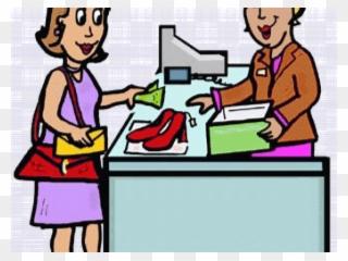 Retail Clipart Clothes Seller.
