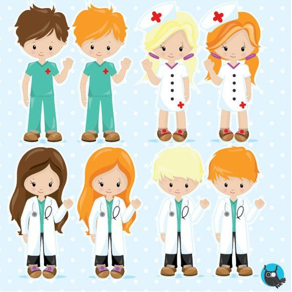 BUY 20 GET 10 OFF Doctor clipart commercial use, Hospital.