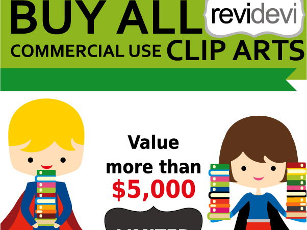 Commercial Use Clip Art.