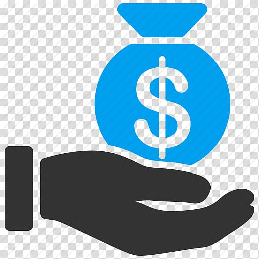 Hand holding dollar bag illustration, Computer Icons Payment.