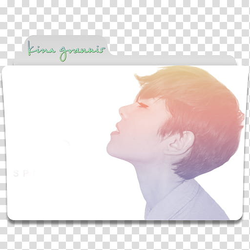 Kina Grannis Folder Icon , Kina Grannis transparent.