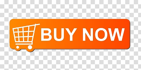 Buy Now logo, Buy Now Orange Button transparent background.