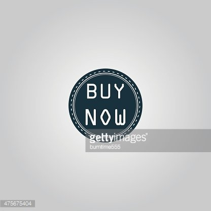 Buy Now Icon, Badge, Label OR Sticker premium clipart.
