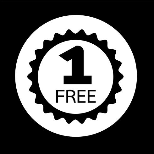 Buy one get one free Icon.